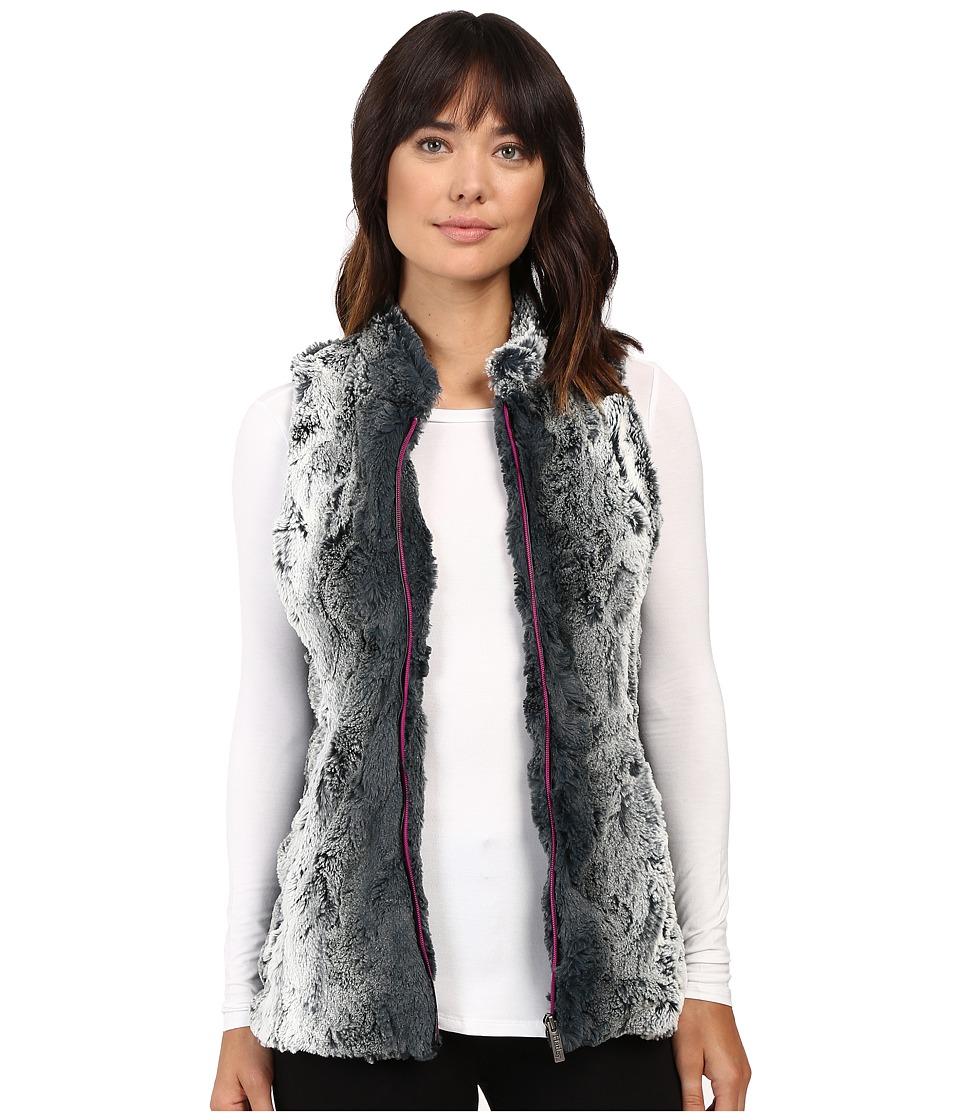 Hatley - Faux Fur Vest (Grey) Women's Vest