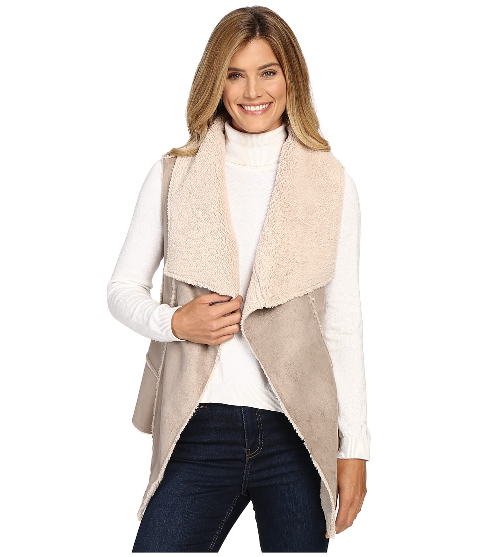 Hatley - Faux Sherling Vest (Natural) Women's Vest