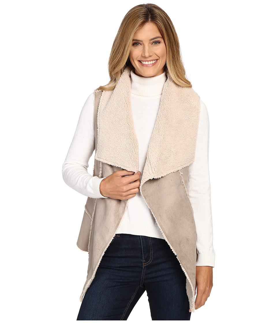 Hatley - Faux Sherling Vest (Natural) Women's Vest