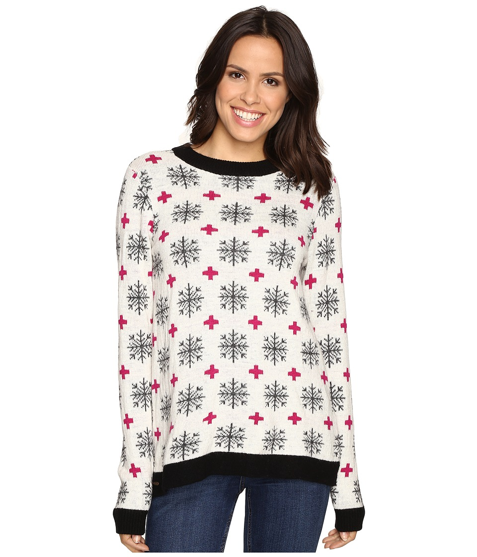 Hatley - Crew Neck Sweater (Alpine Snowflakes) Women's Sweater