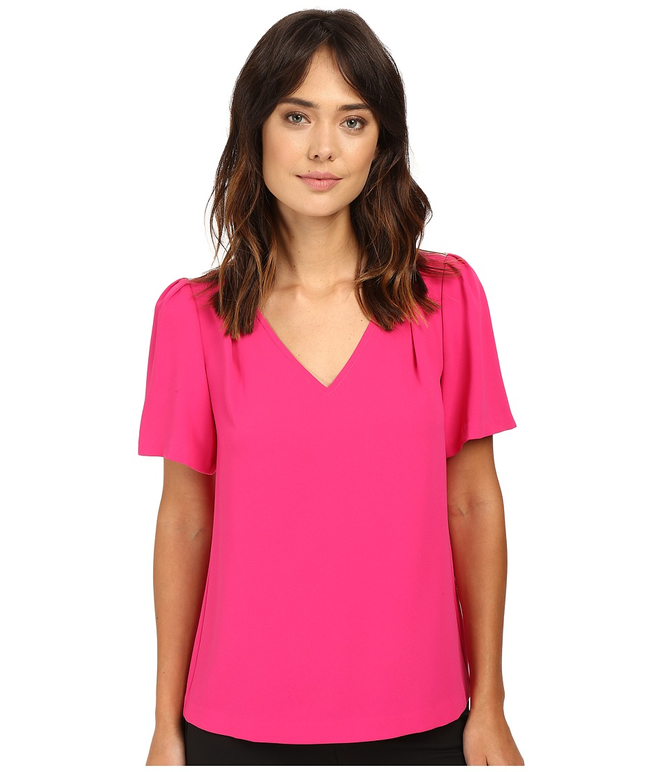 Trina Turk - Ease Top (Magpie Magenta) Women's Clothing