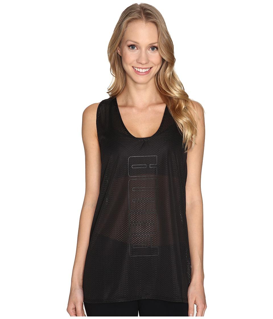 PUMA - Layer Tank Top (PUMA Black) Women's Sleeveless