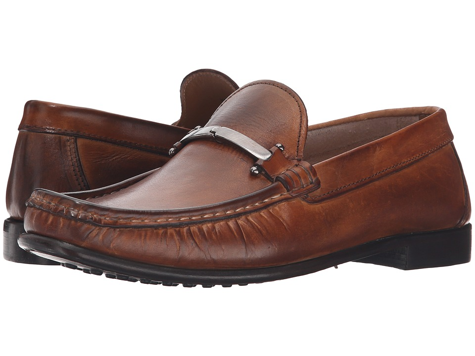 Kenneth Cole New York - Zone in A (Cognac) Men's Slip on Shoes