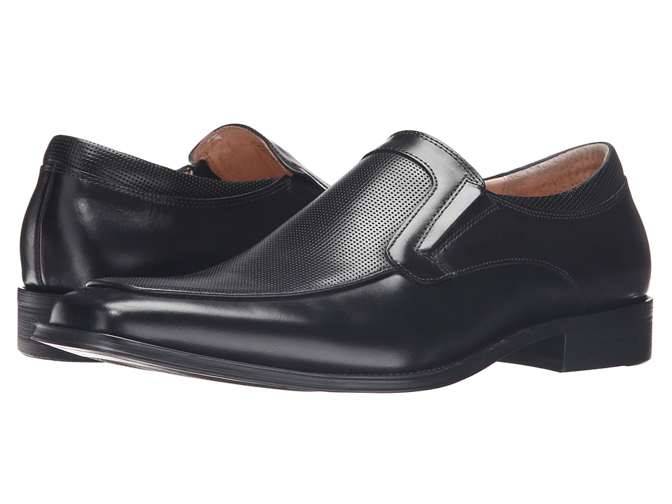 Kenneth Cole New York - Up-State (Black) Men's Slip on Shoes