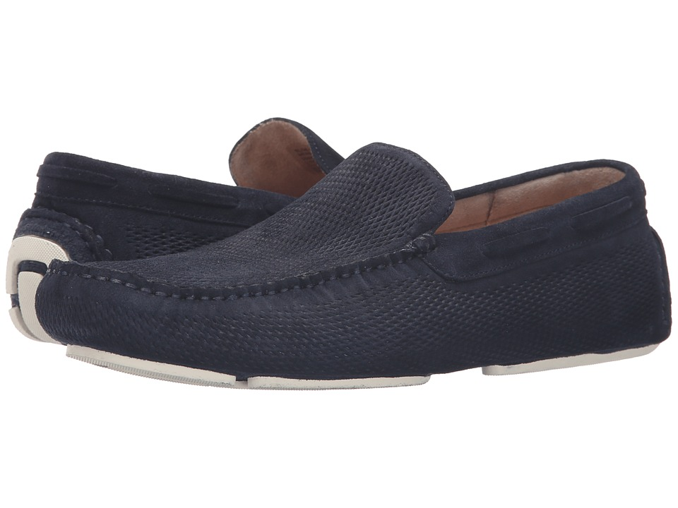 Kenneth Cole New York - Slide-Show (Midnight Navy) Men's Slip on Shoes