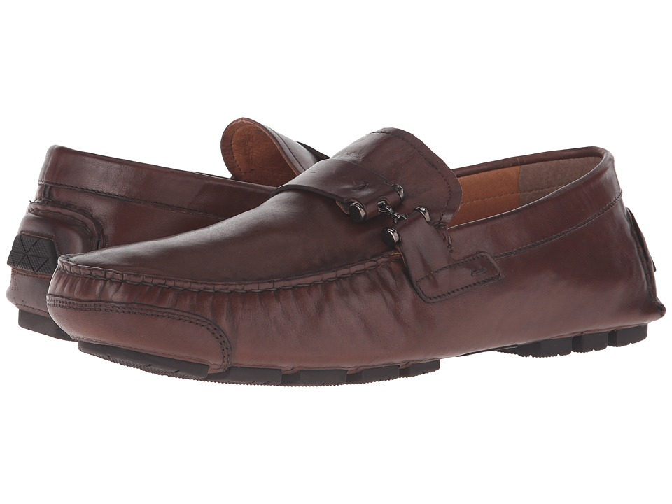 Kenneth Cole New York - Pik N Choose (Brown) Men's Slip on Shoes