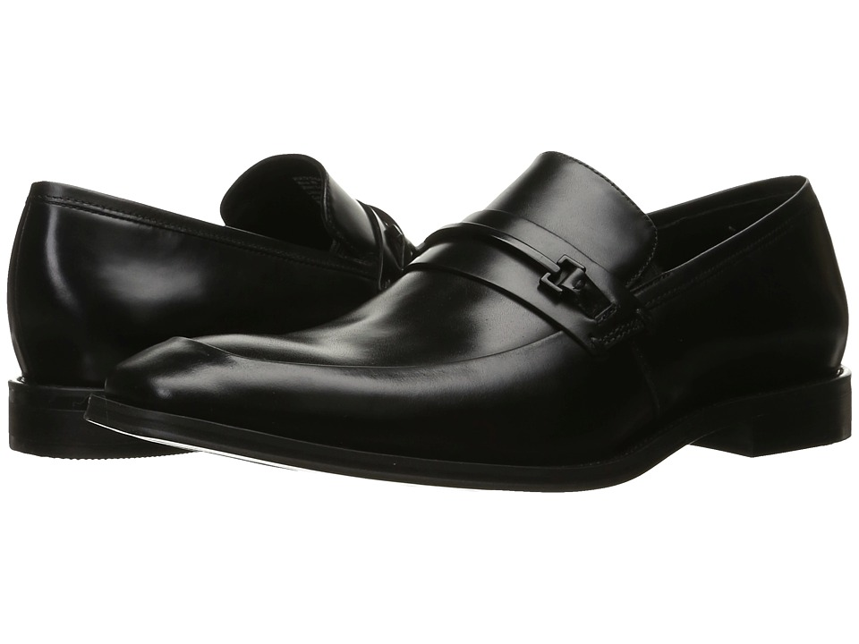 Kenneth Cole New York - North Shore (Black) Men's Slip on Shoes