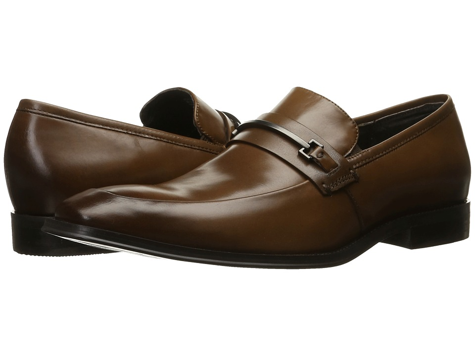 Kenneth Cole New York - North Shore (Cognac) Men's Slip on Shoes