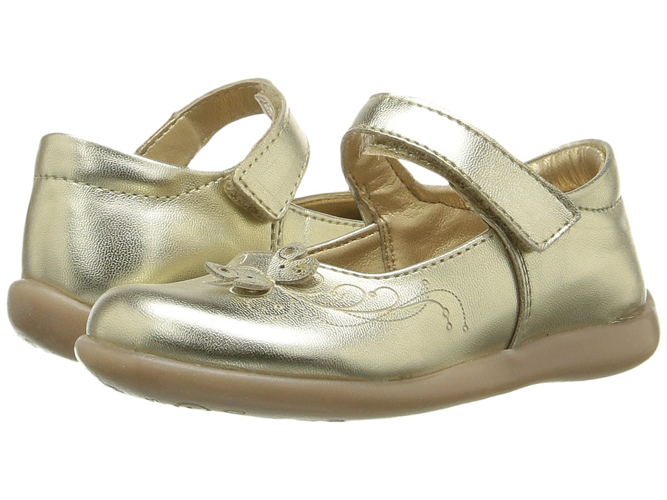Kid Express - Jordyn (Toddler/Little Kid) (Gold Metallic) Girl's Shoes
