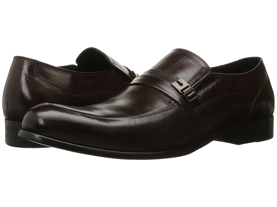 Kenneth Cole New York - Chief Of State (Bordeaux) Men's Slip on Shoes