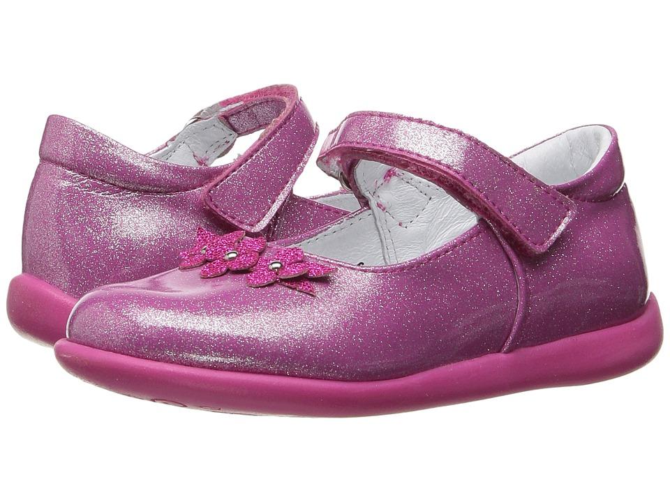 Kid Express - Lilibeth (Toddler/Little Kid) (Fuchsia Glitter Patent) Girl's Shoes