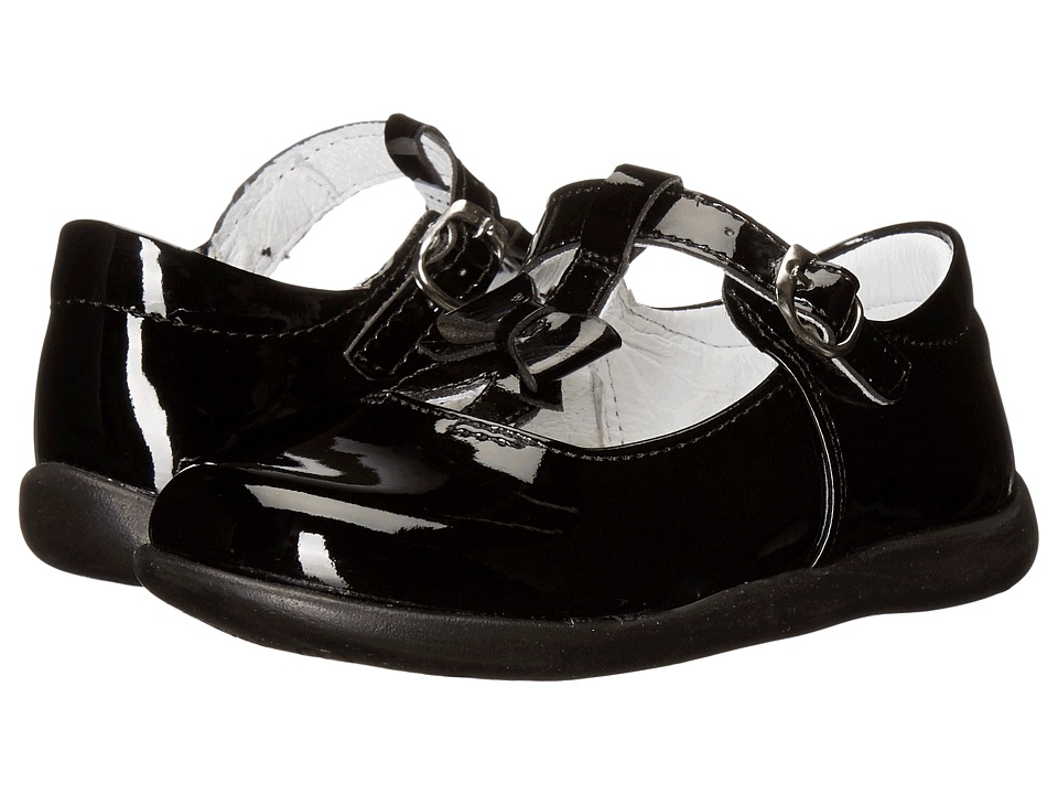 Kid Express - Ciel (Toddler/Little Kid) (Black Patent) Girl's Shoes