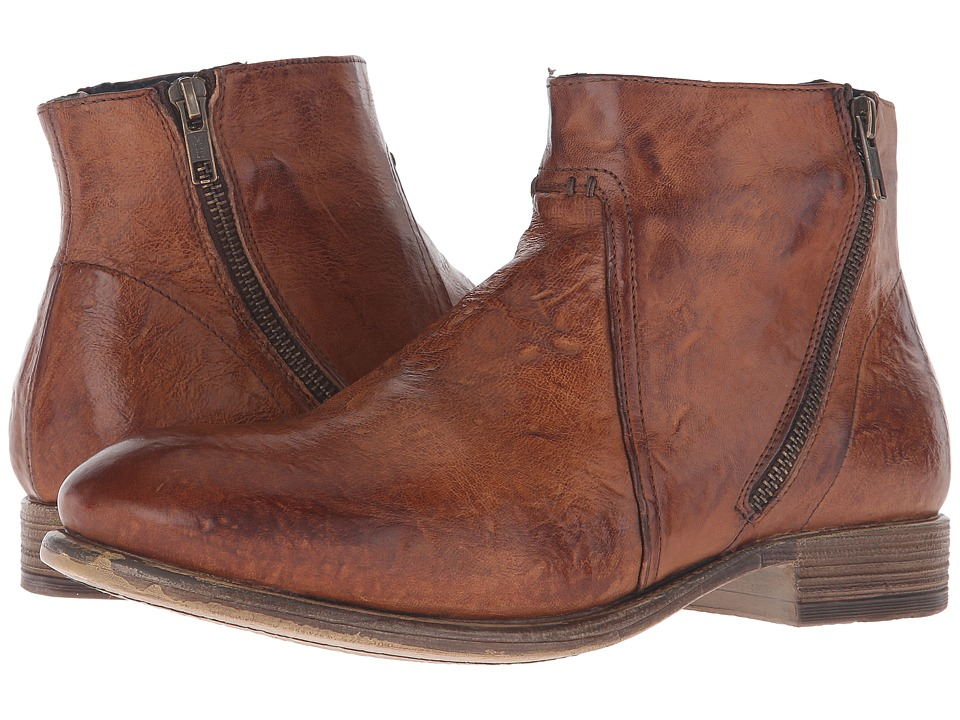 Kenneth Cole New York - Hay-Wire (Cognac) Men's Zip Boots