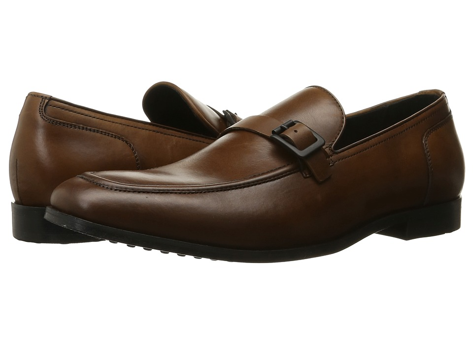 Kenneth Cole New York - Cut Loose (Cognac) Men's Slip on Shoes