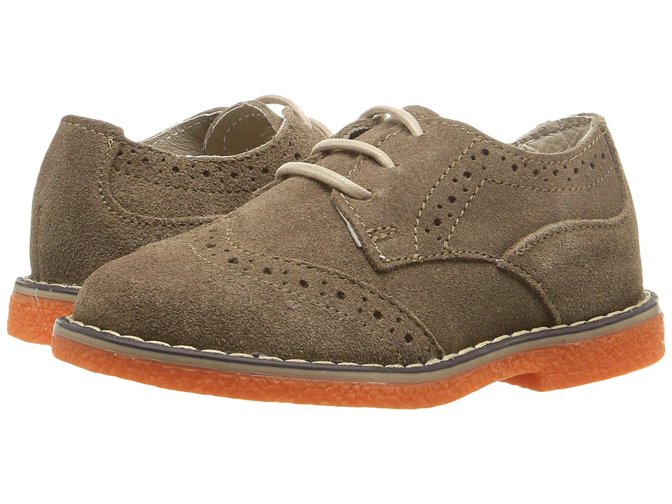 Kid Express - Derek (Toddler/Little Kid) (Chesnut Suede) Boys Shoes
