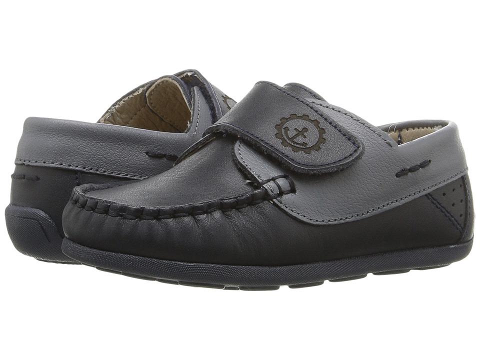 Kid Express - Brett (Toddler) (Navy Combo) Boys Shoes