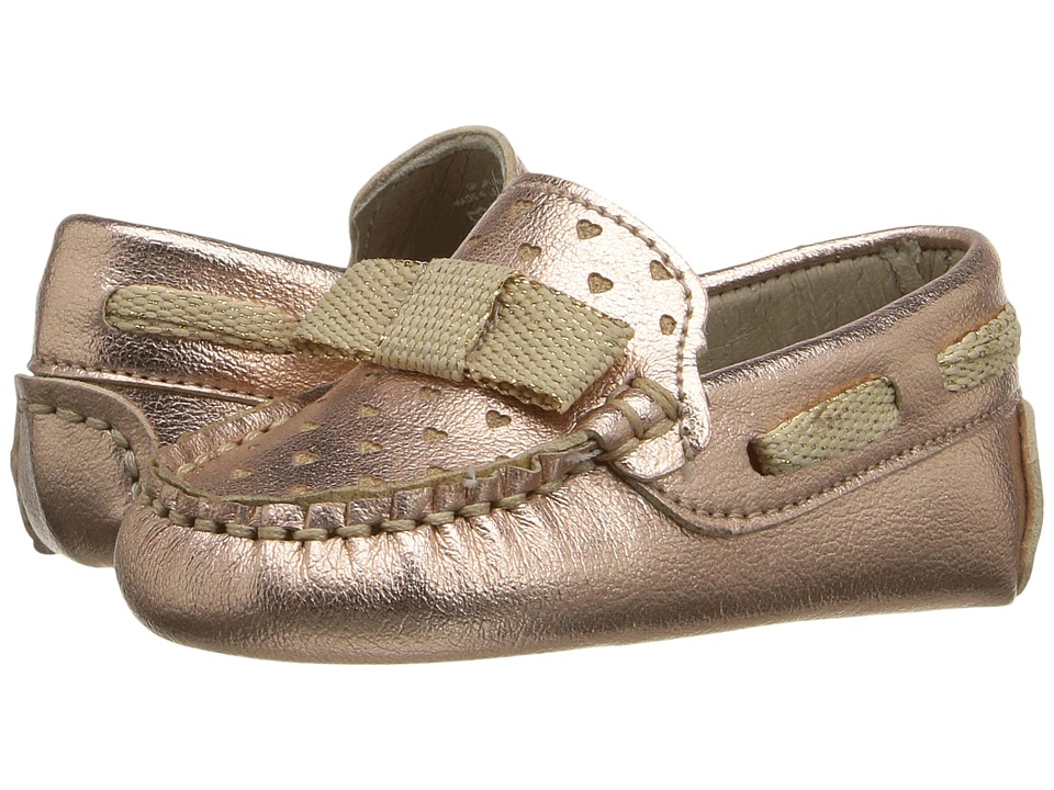 Kid Express - Misha (Infant/Toddler) (Rose Gold Metallic) Girl's Shoes