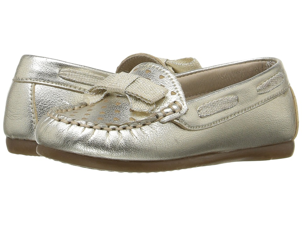 Kid Express - Marlowe (Toddler) (Gold Metallic) Girl's Shoes