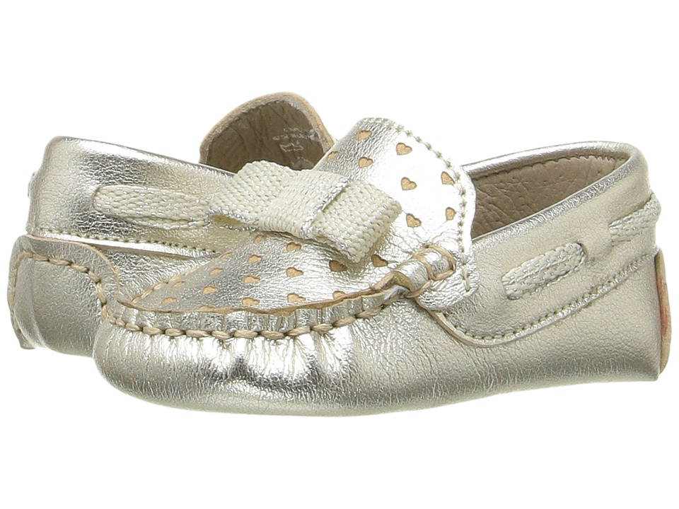Kid Express - Misha (Infant/Toddler) (Gold Metallic) Girl's Shoes