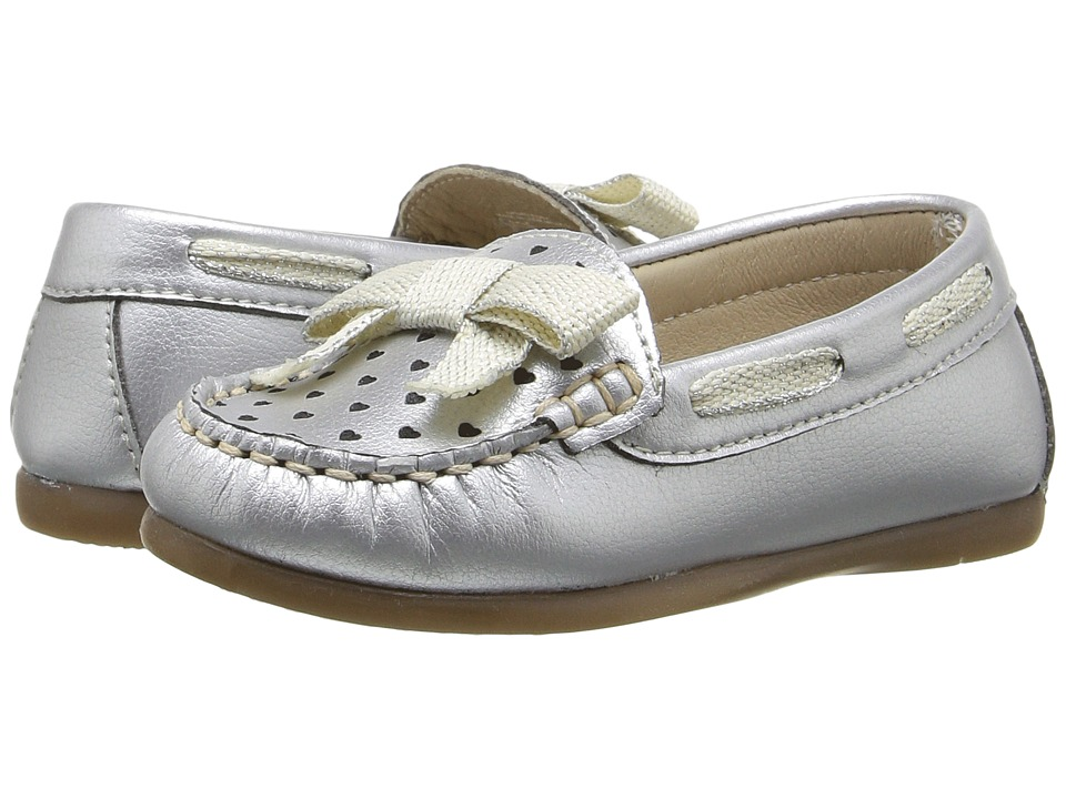 Kid Express - Marlowe (Toddler) (Silver Metallic) Girl's Shoes