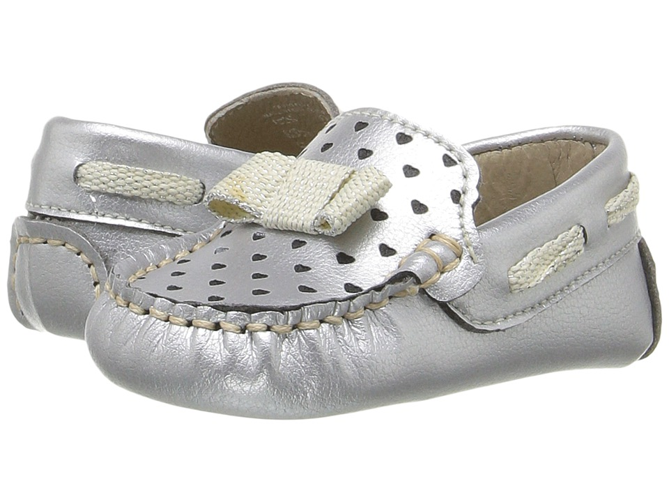 Kid Express - Misha (Infant/Toddler) (Silver Metallic) Girl's Shoes