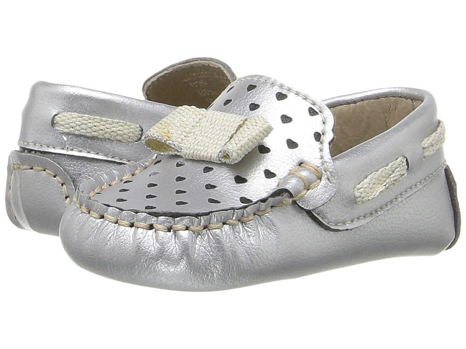 Kid Express - Misha (Infant/Toddler) (Silver Metallic) Girl's Shoes