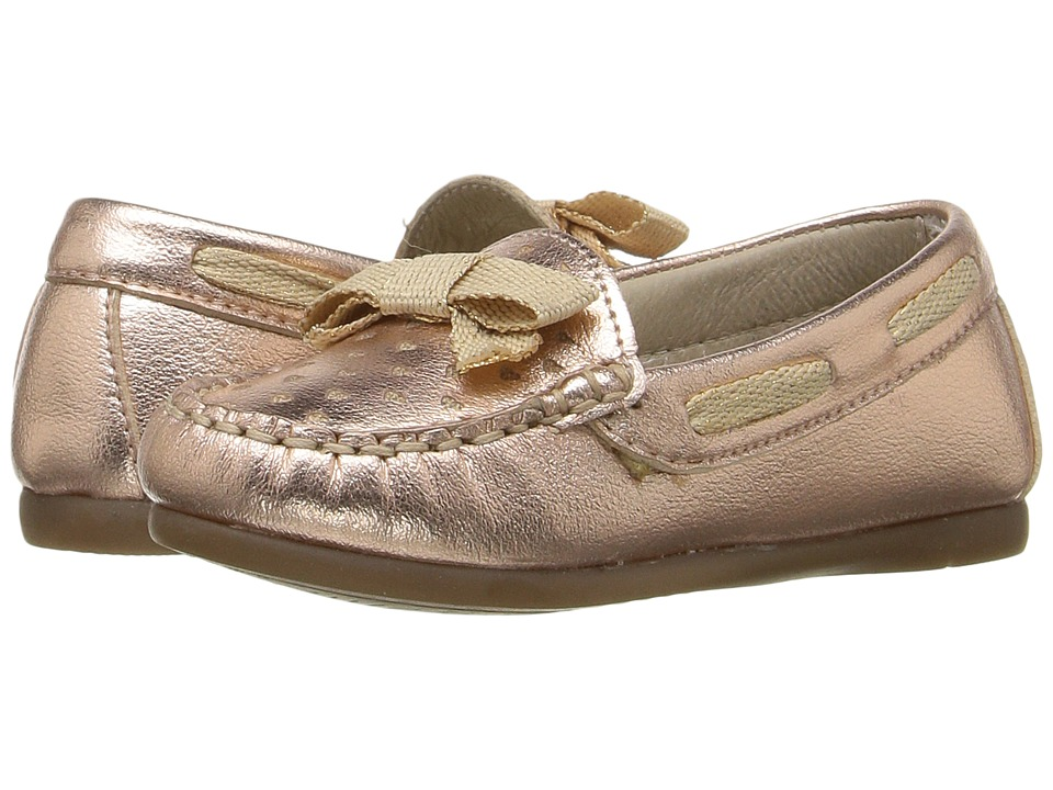 Kid Express - Marlowe (Toddler) (Rose Gold Metallic) Girl's Shoes