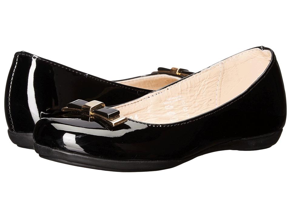 Kid Express - Ansley (Toddler/Little Kid/Big Kid) (Black Patent) Girl's Shoes