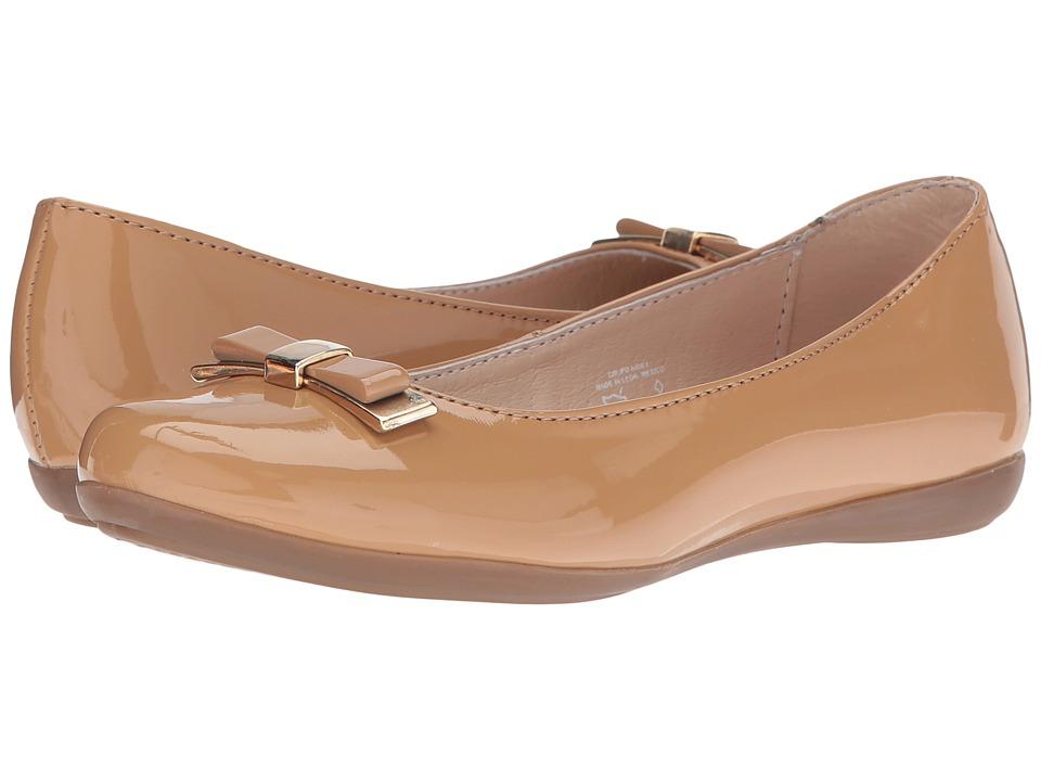 Kid Express - Ansley (Toddler/Little Kid/Big Kid) (Camel Patent) Girl's Shoes