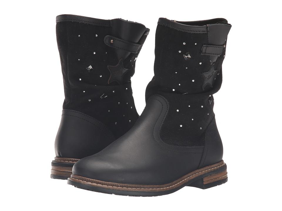 Kid Express - Gwyneth (Toddler/Little Kid/Big Kid) (Black Combo) Girls Shoes