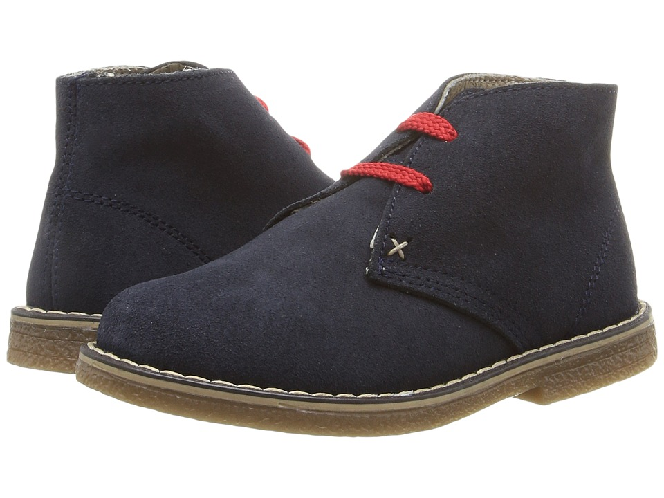 Kid Express - Dale (Toddler/Little Kid) (Navy Suede) Boys Shoes