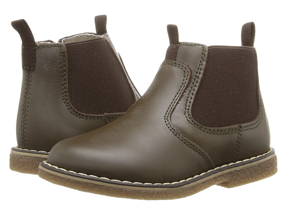 Kid Express - Diego (Toddler/Little Kid) (Dark Brown Combo) Boys Shoes