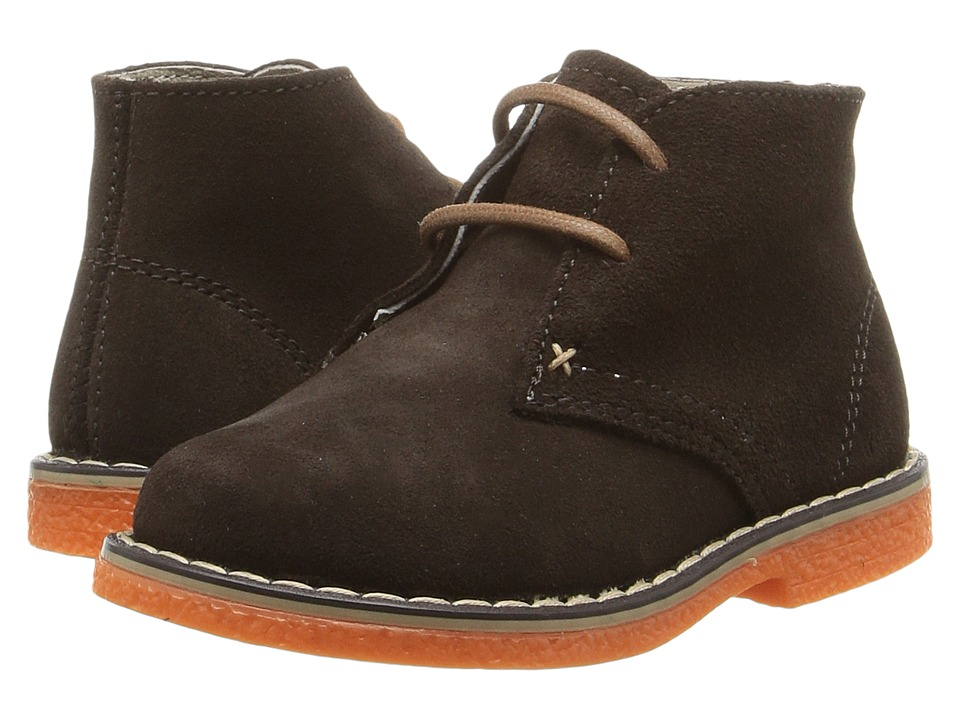 Kid Express - Dale (Toddler/Little Kid) (Dark Brown Combo) Boys Shoes