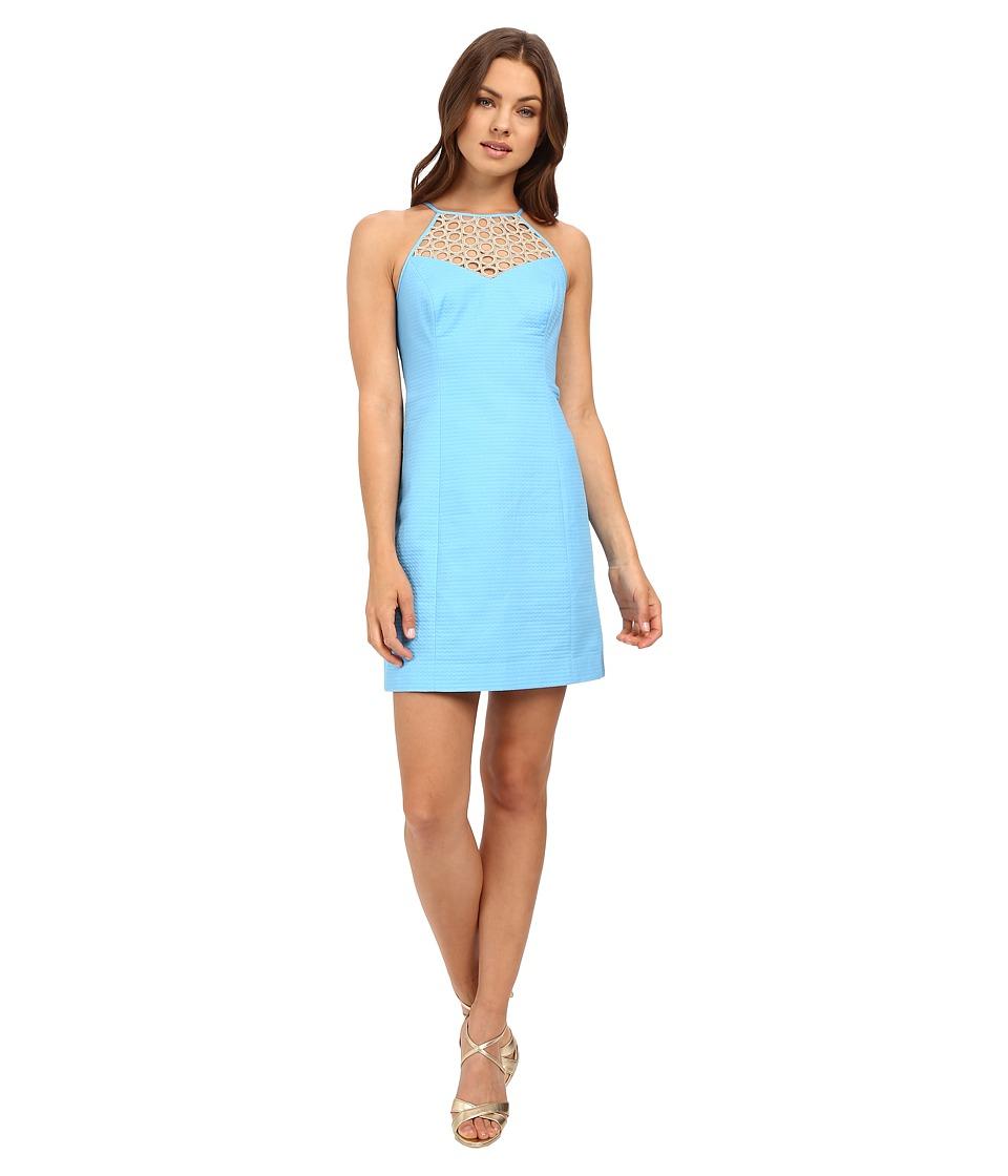 Lilly Pulitzer - Larina Shift Dress (Seaspray Blue) Women's Dress