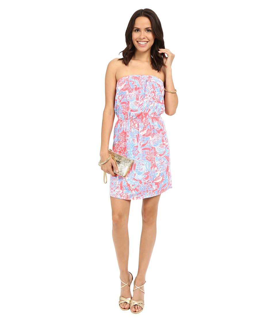 Lilly Pulitzer - Windsor Dress (Pink Sun Ray Summer Siren) Women's Dress