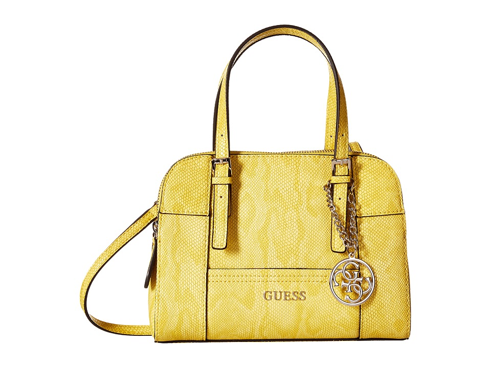 GUESS - Huntley Small Cali Satchel (Sun) Satchel Handbags