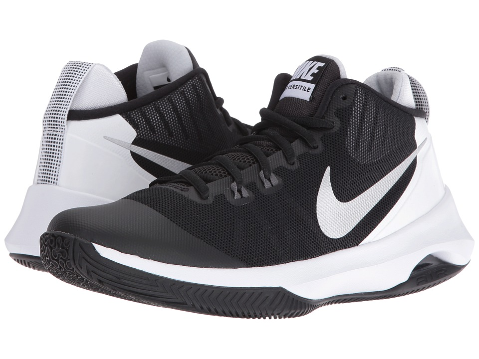 Nike - Air Versatile (Black/Metallic Silver/Dark Grey/Pure Platinum) Women's Basketball Shoes