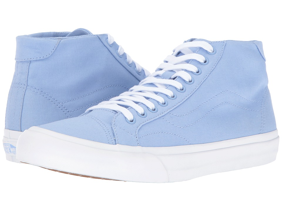 Vans - Court Mid ((Canvas) Serenity) Men's Skate Shoes