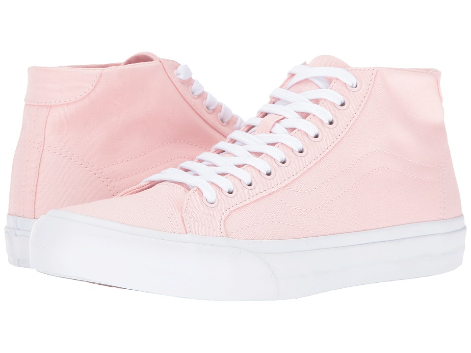 Vans - Court Mid ((Canvas) Rose Quartz) Men's Skate Shoes