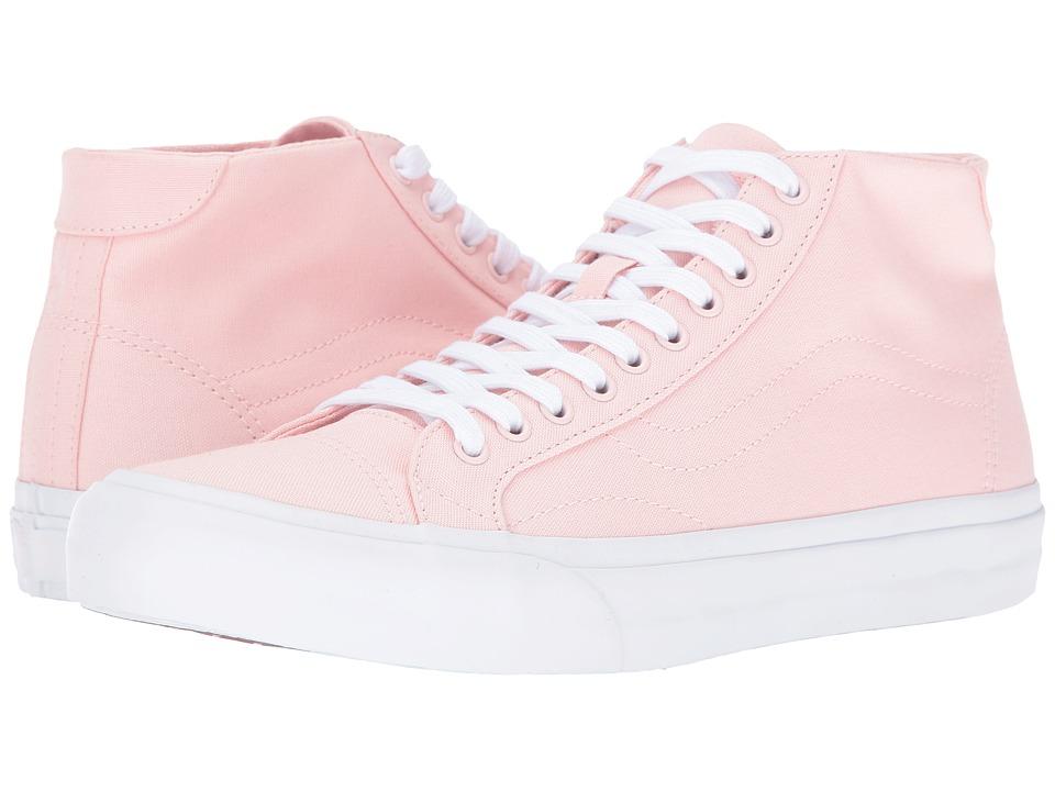 Vans - Court Mid ((Canvas) Rose Quartz) Men's Skate Shoes