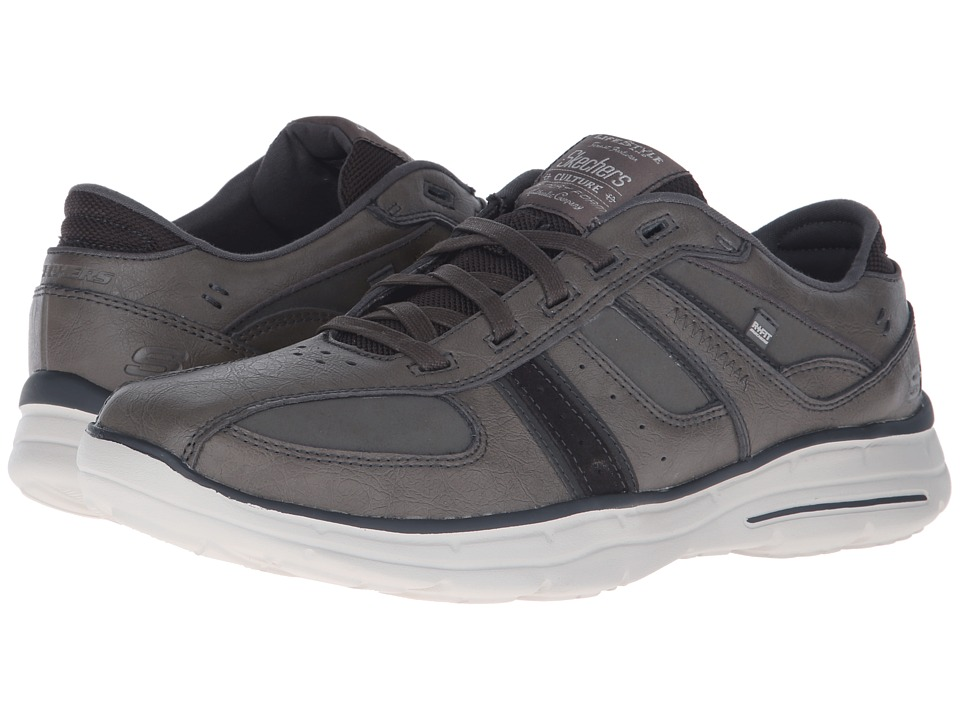 SKECHERS - Relaxed Fit Glides - Piaro (Grey) Men