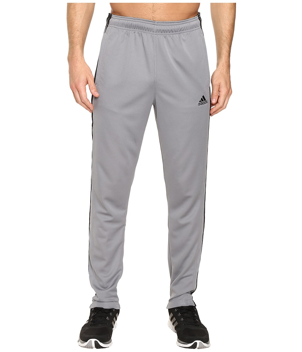 adidas - Essential 3S Tapered Pants (Grey) Men's Casual Pants