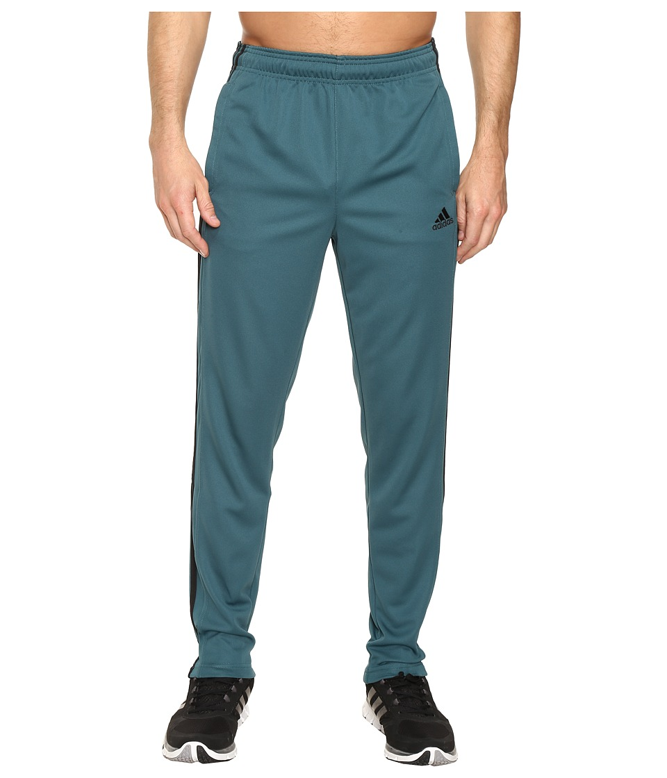 adidas - Essential 3S Tapered Pants (Tech Green) Men's Casual Pants