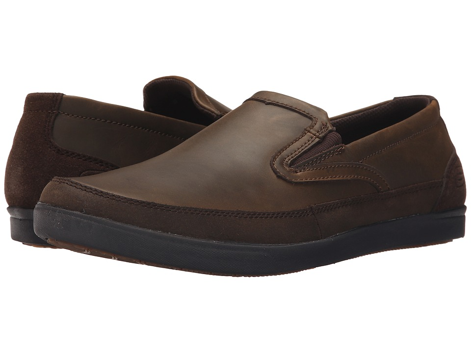 SKECHERS - Relaxed Fit Cardova - Osuno (Dark Brown Leather) Men