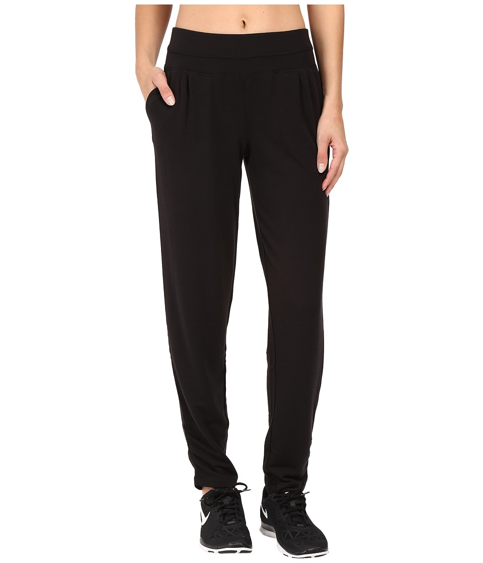 Jockey Active - Zen Relaxed Pants (Deep Black) Women's Workout