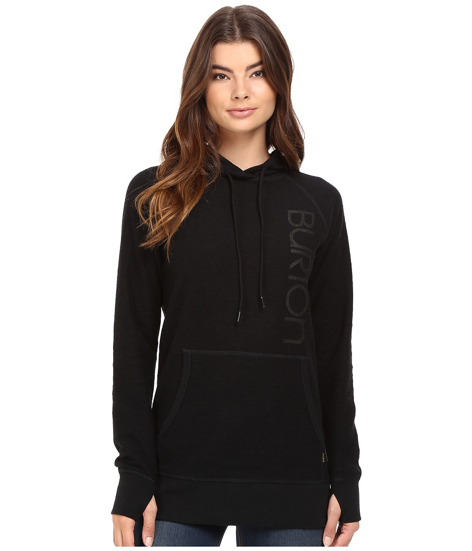 Burton Custom Antidote Pullover Hoodie (True Black) Women