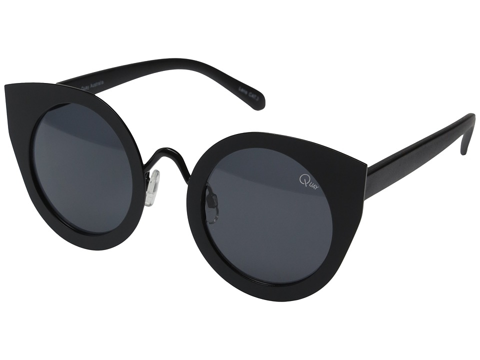 QUAY AUSTRALIA - Tainted Love (Black/Smoke Lens) Fashion Sunglasses