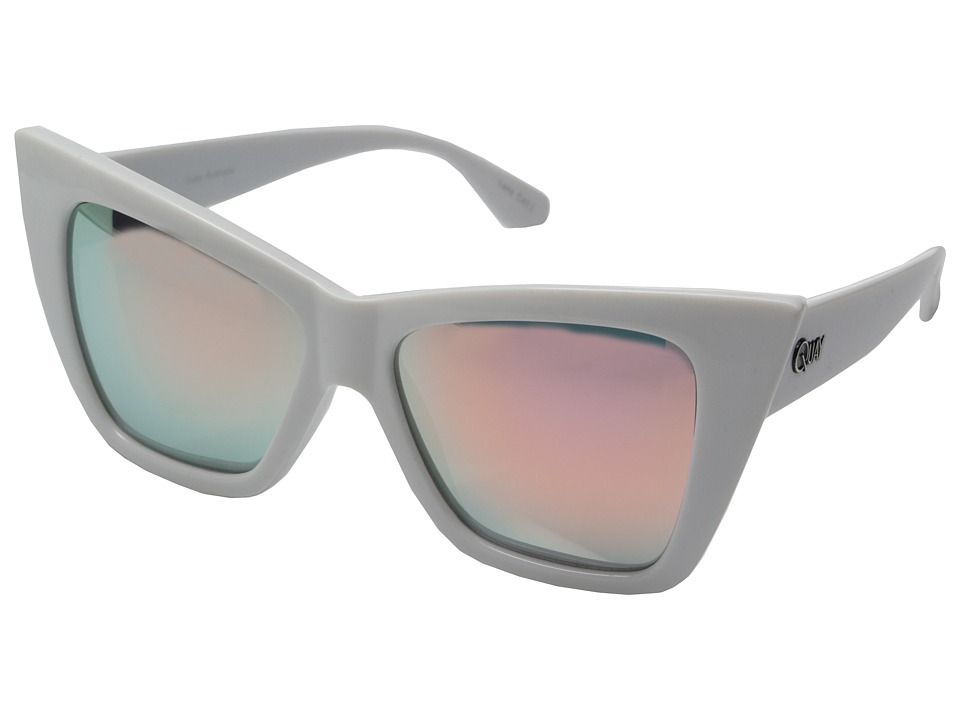 QUAY AUSTRALIA - Vesper (White/Rose Mirror) Fashion Sunglasses
