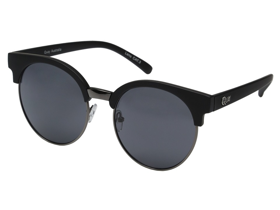 QUAY AUSTRALIA - Highly Strung (Black/Smoke Lens) Fashion Sunglasses