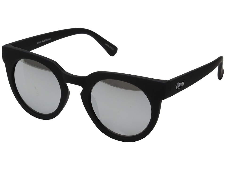 QUAY AUSTRALIA - Class Of 89 (Black/Silver Mirror) Fashion Sunglasses